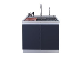 Integrated cooker sink 800B